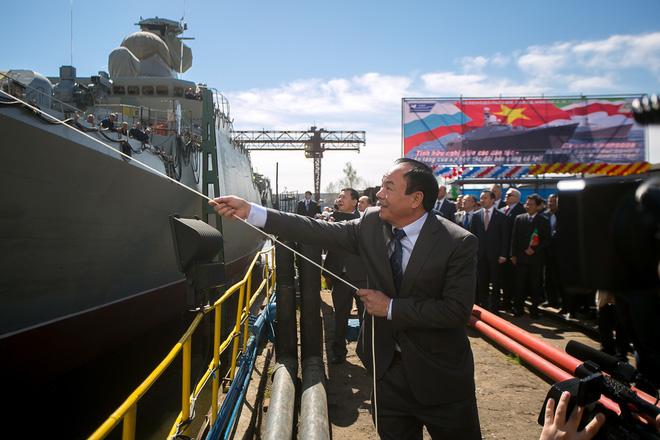 Hai loại vũ khí hiện đại nhất của Việt Nam được xếp cạnh nhau tại Triển lãm MAKS 2017 - Ảnh 3.
