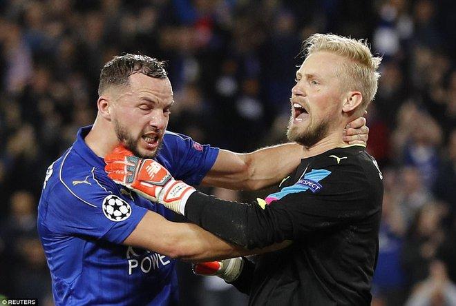 19 ngày sau khi sa thải Ranieri, Leicester tạo thêm kỳ tích tại Champions League - Ảnh 2.