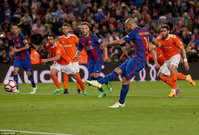 Barca thách thức, Real đáp lời bằng 2 trận cầu vùi dập 16