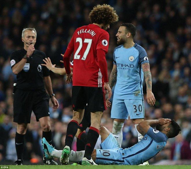 """""""Sống sót"""" sau derby Manchester, Quỷ đỏ thở phào nhẹ nhõm - Ảnh 32"""