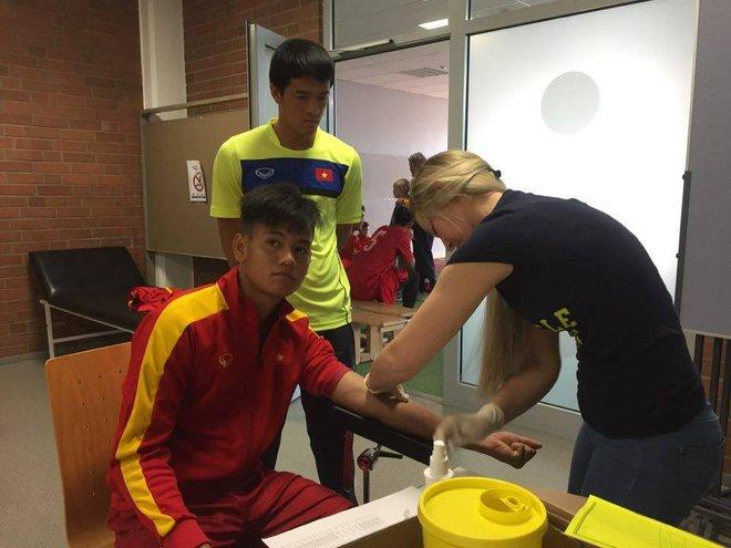 U20 Việt Nam vượt qua bài test thể lực gắt gao theo tiêu chuẩn Đức - Ảnh 3.