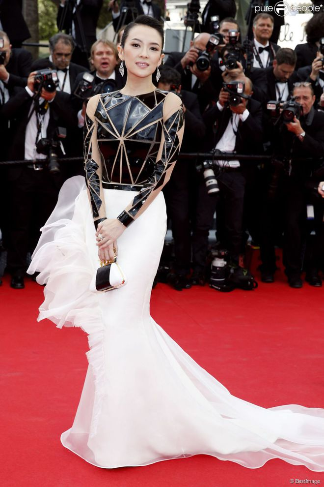 Sao Hoa Ngữ tại Cannes: Có thể đến nhưng không phải ai cũng được chú ý - ảnh 4