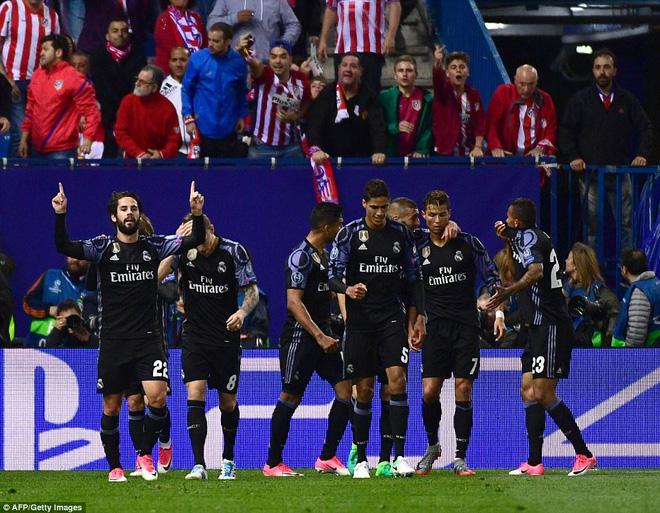 Vicente Calderon gầm vang trong ngày Real Madrid toát mồ hôi lạnh - Ảnh 23