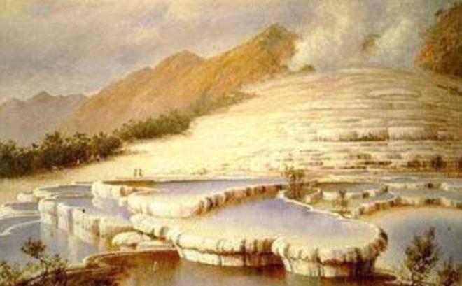Kết quả hình ảnh cho thềm địa chất hồng và trắng