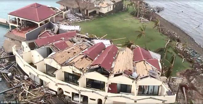 Sau bão Irma, nhiều đảo thiên đường ở Carribean thành bình địa nhung nhúc chuột bọ - Ảnh 2.