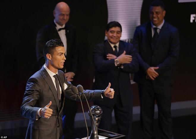 Ronaldo ngạo nghễ nhận ngôi số một, Real Madrid