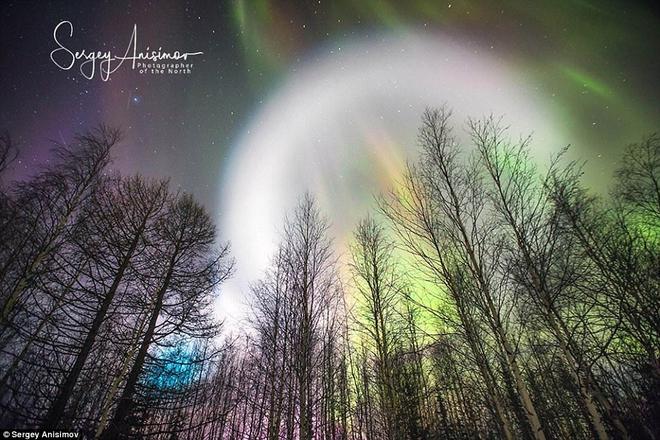 Bí ẩn quả cầu UFO khổng lồ phát sáng ở Sibaria: Cổng thời gian mở ra hay người ngoài hành tinh? - Ảnh 6.