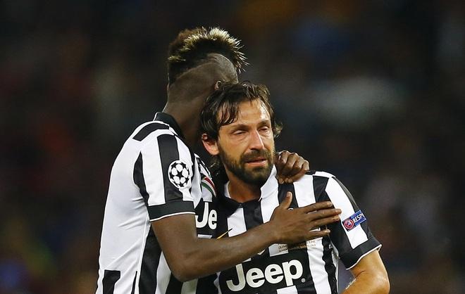 Juventus vs Barcelona: Nước mắt Pirlo và khát vọng phục hưng Serie A - Ảnh 1.