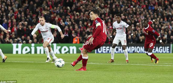 Chiến thắng hủy diệt, Liverpool ra mắt bộ tứ siêu tấn công huyền ảo - Ảnh 5.