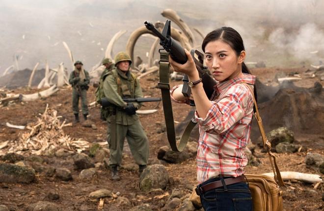 Gia thế hoành tráng của  mỹ nhân Trung Quốc mờ nhạt nhất phim Kong:Skull island - Ảnh 5.