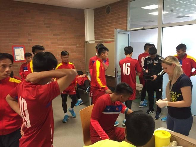 U20 Việt Nam vượt qua bài test thể lực gắt gao theo tiêu chuẩn Đức - Ảnh 2.