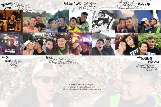 Chuyện tình vượt biên giới của 2 chàng trai: 10 tháng yêu nhau và 27 thành phố - Ảnh 6.