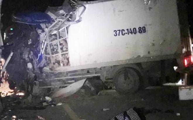 Thanh Hóa: Thông tin về các nạn nhân trong vụ tai nạn xe khách đấu đầu xe tải