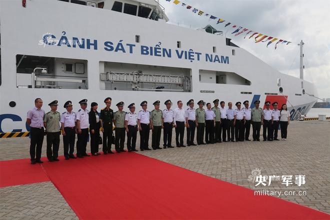 Báo Trung Quốc quan tâm tới chuyến thăm của tàu CSB 8004 Việt Nam - Ảnh 4.