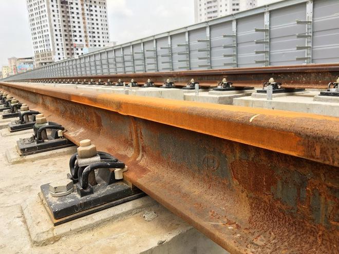 Cận cảnh những vết nứt tại dự án đường sắt trên cao Cát Linh - Hà Đông - Ảnh 6.