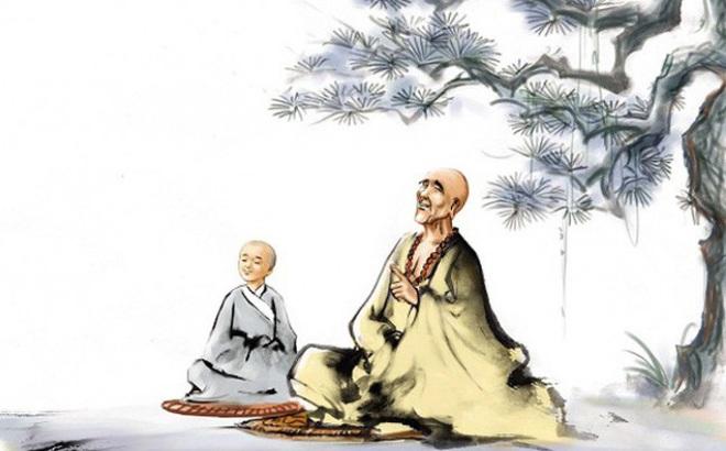 Cõng phụ nữ qua sông, hòa thượng già vẫn cho đệ tử một bài học thấm thía
