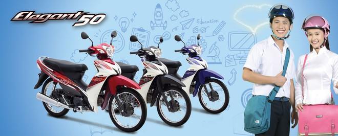 Cận cảnh chiếc xe máy có giá rẻ nhất Việt Nam - Ảnh 6.