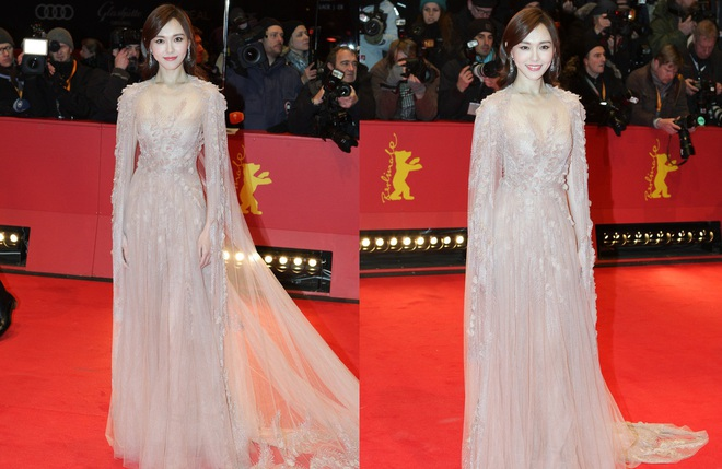 Xuất hiện xinh đẹp và lỗng lẫy nhưng Đường Yên vẫn bị ngó lơ trên thảm đỏ quốc tế - Ảnh 8.