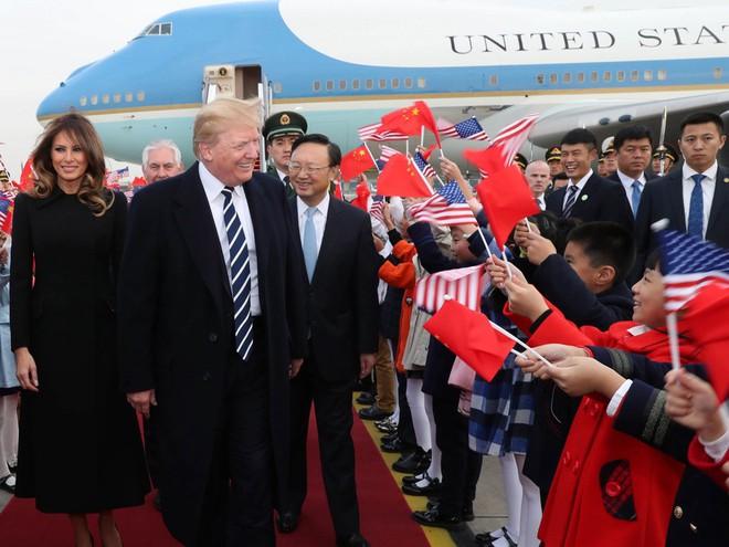 Trung Quốc đón TT Trump bằng nghi thức biệt lệ chưa từng có kể từ ngày lập quốc - Ảnh 1.