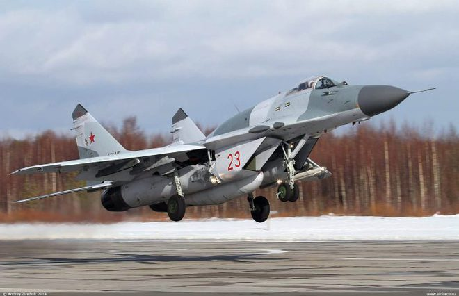 Đề phòng Israel tập kích, Nga cấp tốc tăng cường MiG-29SMT tới Syria - Ảnh 1.