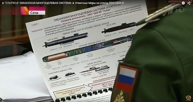 Nga bị lộ tin chế tạo tàu ngầm bí mật dành cho ngư lôi tuyệt mật: Mỹ hết sức dè chừng - Ảnh 3