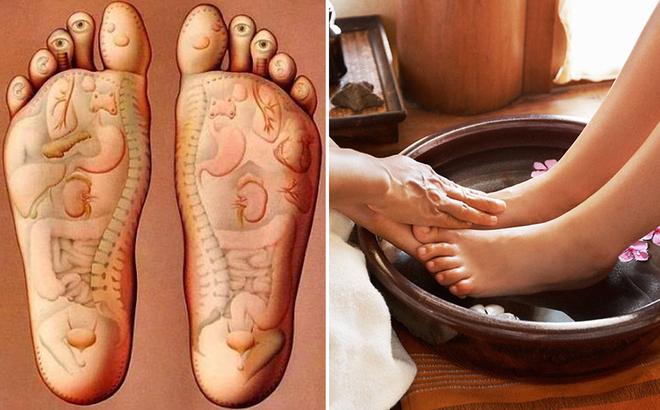 Một số bài thuốc ngâm chân chữa chứng mất ngủ