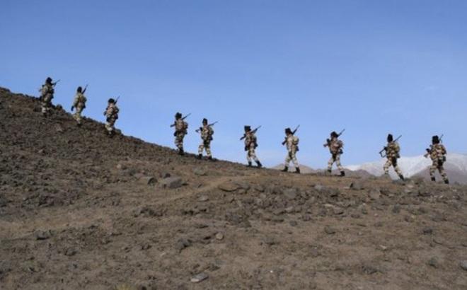 Ấn Độ điều thêm 2.500 lính áp sát biên giới Trung - Ấn