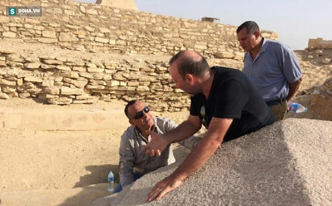 """Khai quật di tích 4.300 năm tuổi trong """"vùng tử địa"""" gần đại kim tự tháp Giza ở Ai Cập"""