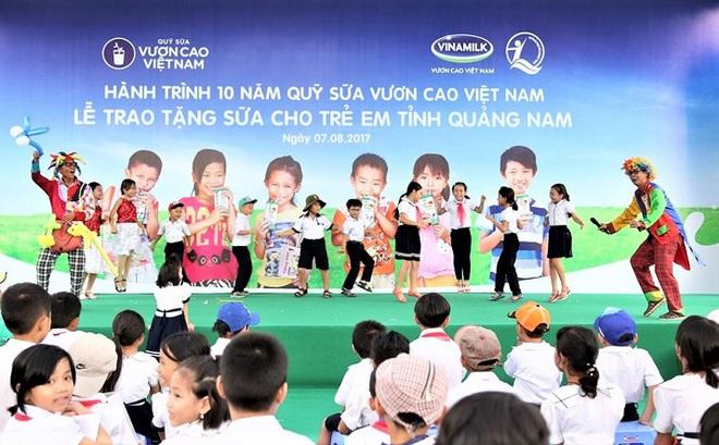 Hành trình 10 năm và 31,5 triệu ly sữa đến với 400 ngàn trẻ em Việt Nam
