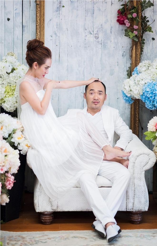 Ảnh cưới 6 năm trước của hoa hậu hài Thu Trang và Tiến Luật - Ảnh 13.