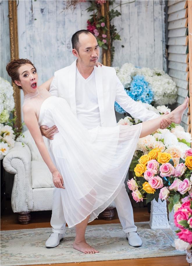 Ảnh cưới 6 năm trước của hoa hậu hài Thu Trang và Tiến Luật - Ảnh 14.