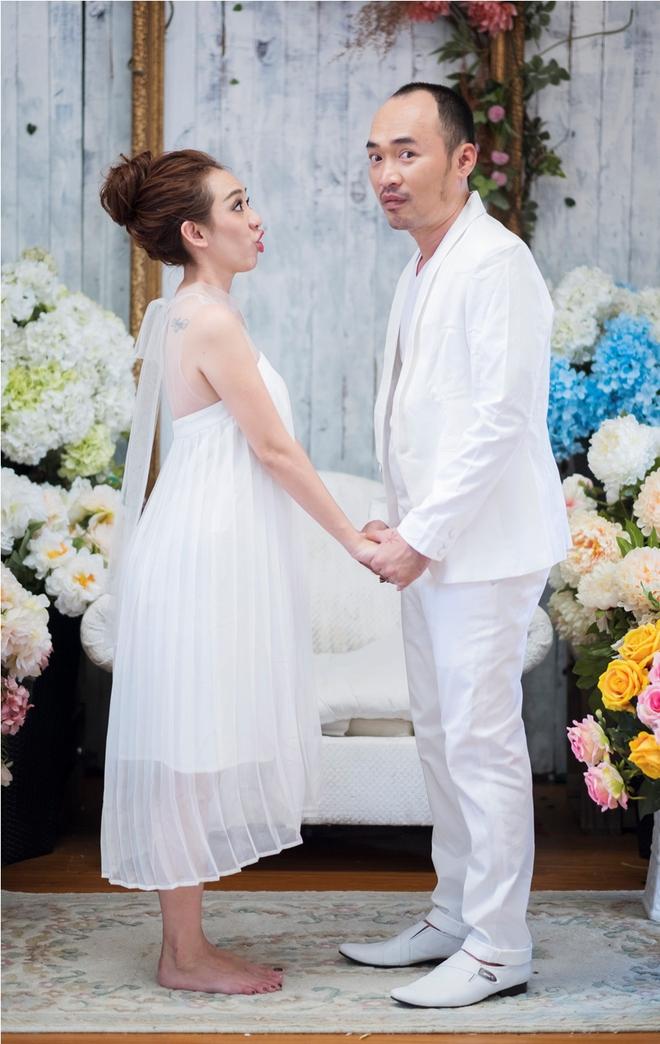 Ảnh cưới 6 năm trước của hoa hậu hài Thu Trang và Tiến Luật - Ảnh 15.