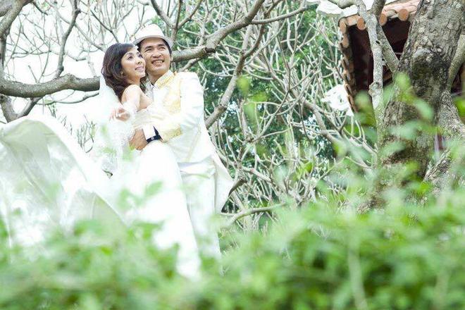 Ảnh cưới 6 năm trước của hoa hậu hài Thu Trang và Tiến Luật - Ảnh 6.