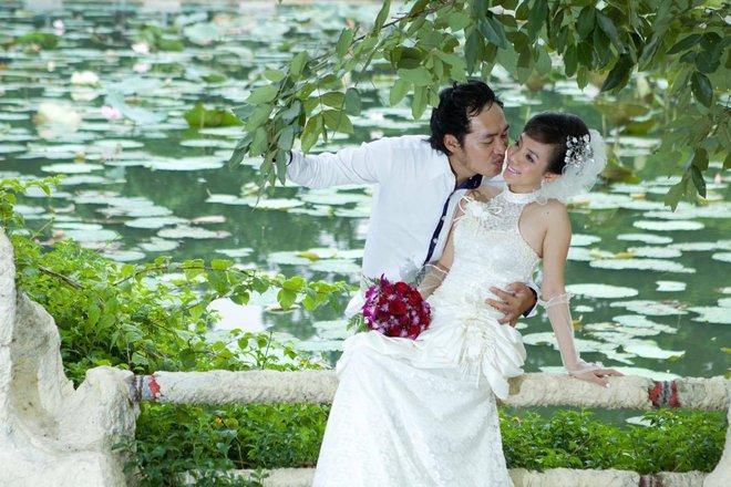 Ảnh cưới 6 năm trước của hoa hậu hài Thu Trang và Tiến Luật - Ảnh 5.