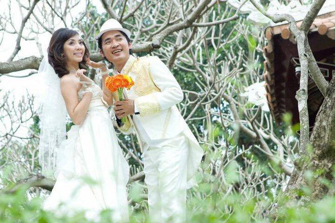 Ảnh cưới 6 năm trước của hoa hậu hài Thu Trang và Tiến Luật - Ảnh 3.