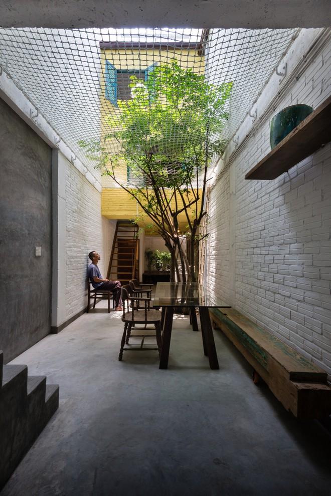 Kiệt tác kiến trúc bên trong ngôi nhà lụp xụp, mặt tiền 3m ở Sài Gòn - Ảnh 2.