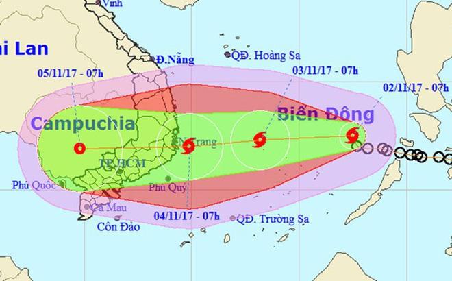 Chuyên gia thời tiết nói về điểm giống và khác nhau giữa bão số 12 và bão Linda