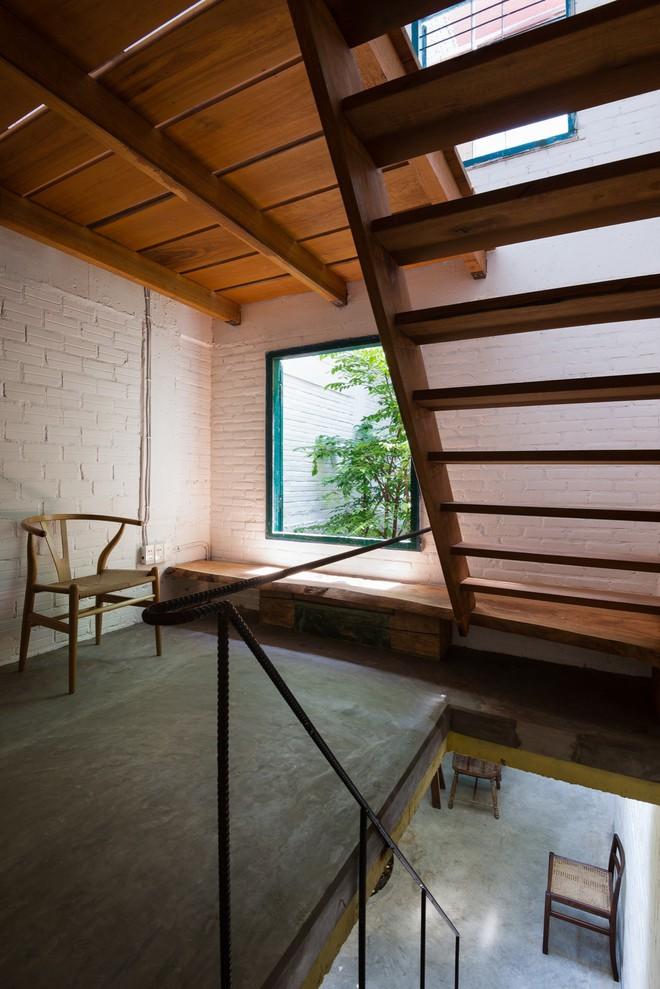 Kiệt tác kiến trúc bên trong ngôi nhà lụp xụp, mặt tiền 3m ở Sài Gòn - Ảnh 7.