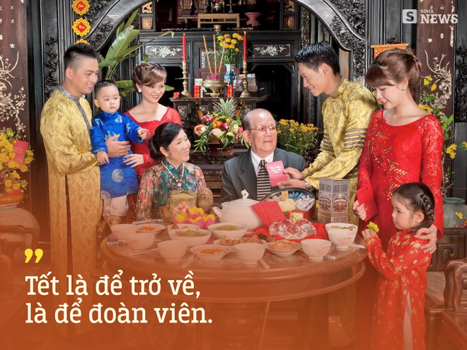 Gửi tất cả bạn trẻ Việt Nam thích du lịch Tết: Bố mẹ ta đang già đi, vì thế Tết hãy về nhà - Ảnh 1.