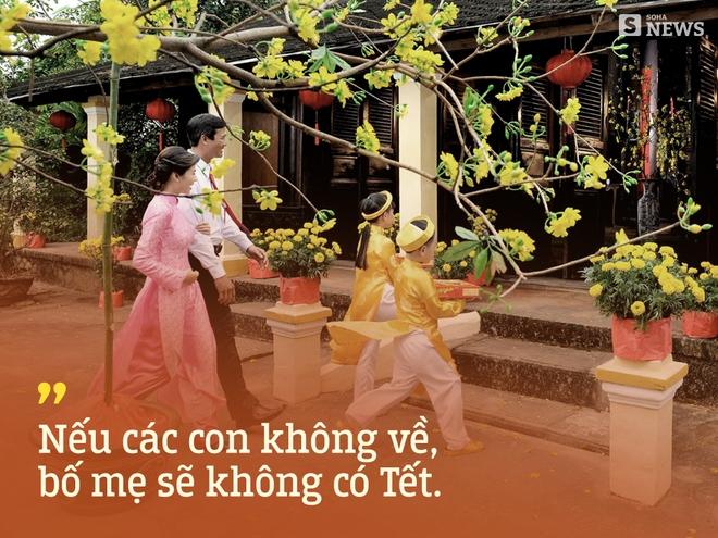 Gửi tất cả bạn trẻ Việt Nam thích du lịch Tết: Bố mẹ ta đang già đi, vì thế Tết hãy về nhà - Ảnh 3.