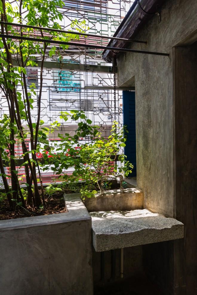 Kiệt tác kiến trúc bên trong ngôi nhà lụp xụp, mặt tiền 3m ở Sài Gòn - Ảnh 14.