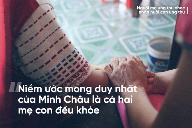 Mẹ ung thư nuôi con ung thư ở Bắc Ninh: Nhiều đêm đau không ngủ được lại ôm nhau khóc - Ảnh 8.