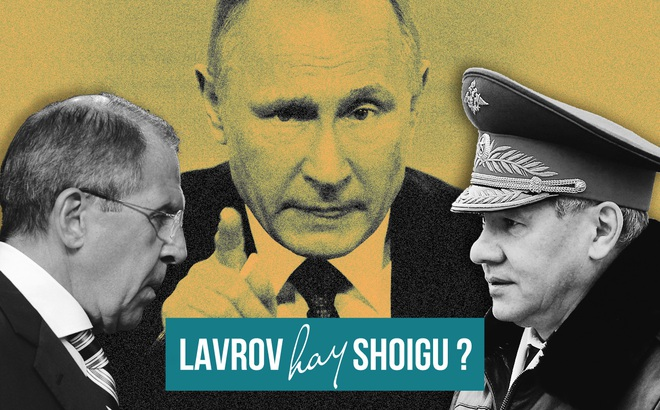"""Học thuyết """"Hai Sergei"""" của Putin: Không muốn nói chuyện với Lavrov thì sẽ phải gặp Shoigu"""