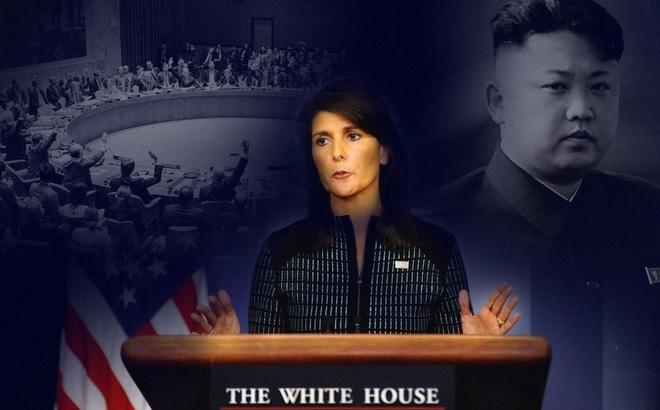 """Đại sứ Mỹ tại LHQ: LHQ đã """"hết cách"""" với Triều Tiên, Mỹ có thể chuyển đổi vấn đề cho Lầu Năm Góc"""