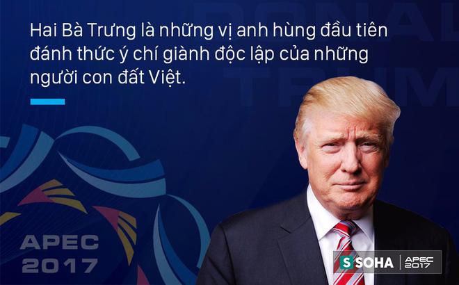 Tổng thống Mỹ Donald Trump: Việt Nam đã hiểu giá trị của nền độc lập từ 2.000 năm trước