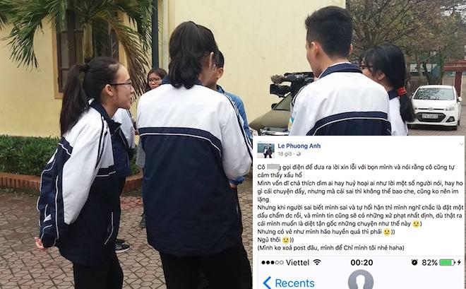 Sở GD&ĐT Nghệ An kết luận giám thị bị tố gian lận đã chép 1 phần bài thi thí sinh