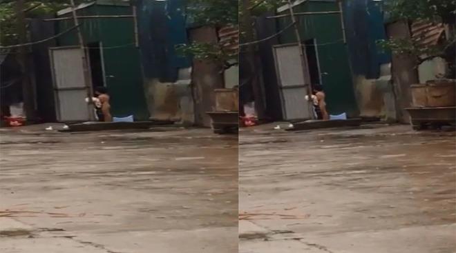 Hà Nội: Mẹ bắt con gái 3 tuổi không mặc quần áo đứng giữa trời mưa rét - Ảnh 1.