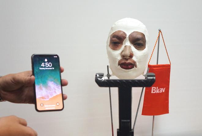 Mặt nạ BKAV bóc iPhone X của Apple: Khi Face ID đối đầu Fake PR - Ảnh 2.