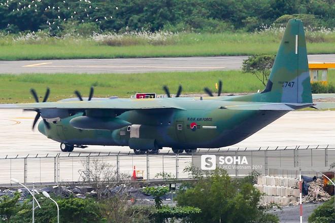 [ẢNH] Nhìn lại dàn máy bay, chuyên cơ khủng đổ về Đà Nẵng trong Tuần lễ Cấp cao APEC - Ảnh 14.