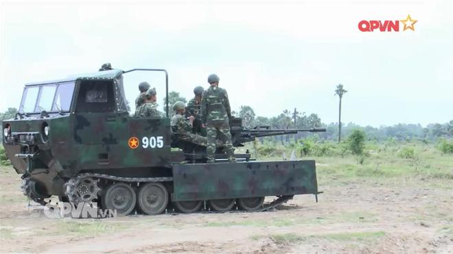 Việt Nam tích hợp cối 100 mm cho thiết giáp M113, đưa pháo cao xạ lên xe bánh xích M548 - Ảnh 2.